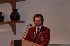 Vorstandsvorsitzender Stefan Bosch gibt einen Einblick in die 100-jährige Vereinsgeschichte