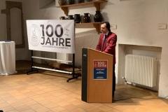 Vorstandsvorsitzender Stefan Bosch begrüßt die Gäste