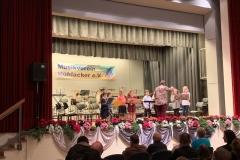 Die Flötengruppe (Leitung: Almut Wagner)