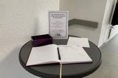 Gästebuch für das 100-jährige Vereinsjubiläum